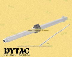 DYTAC 7.5inch SBR Outer Barrel Assemble for Marui M4 (Silver)